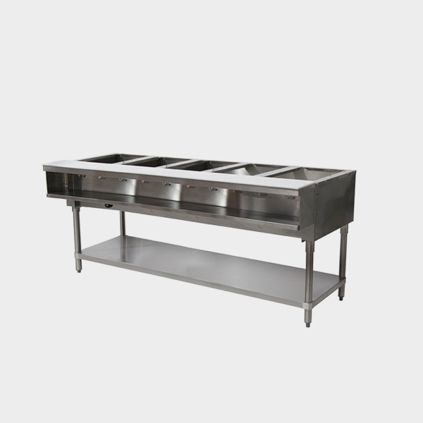 HDS Stainless Steel Tray Hot Food Table Rayton Electric - Electric hot food table